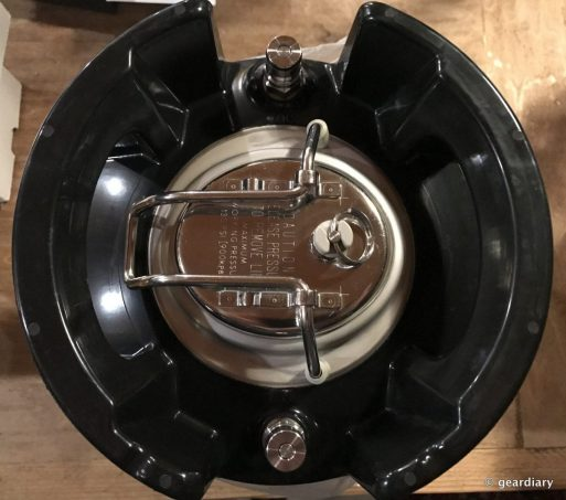 GearDiary Brewing Beer with the PicoBrew Pico: Set-Up and Fermentation