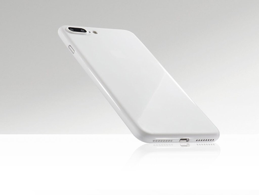 A Jet White iPhone 7 Plus is Totallee Possible with This Case