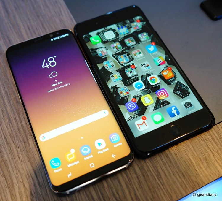 Samsung Galaxy S8 and S8+: Beautiful Phones with So Many Features  Samsung Galaxy S8 and S8+: Beautiful Phones with So Many Features