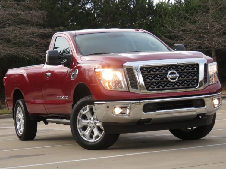 2017 Nissan Titan XD Single Cab Reports for Duty
