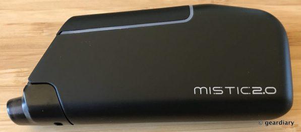 GearDiary Mistic 2.0 POD-MOD Pre-filled Vape System Starter Kit Review