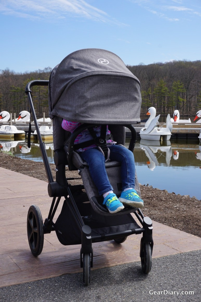 The Cybex Priam Stroller With Cloud Q Infant Car Seat Is A