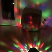 Monster Superstar Ravebox Portable Speaker: Outdoor Sound with a Musical Light Show
