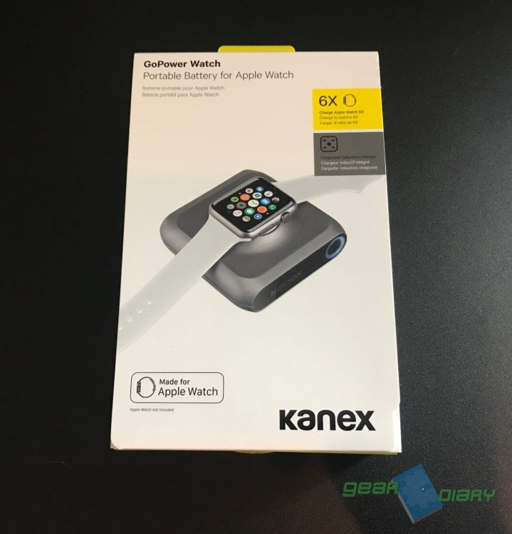 Kanex GoPower Watch Battery Pack Is the Ultimate Apple Watch Accessory