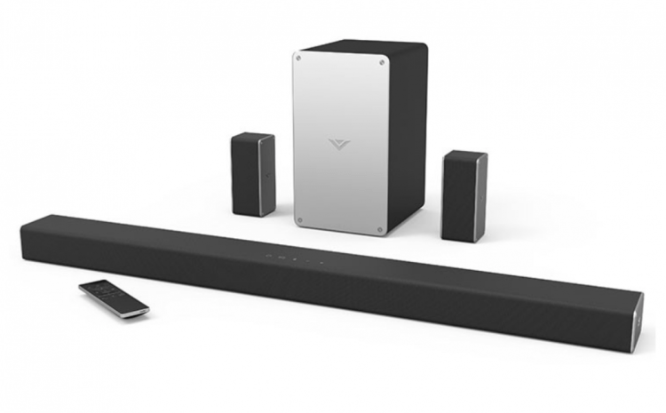 GearDiary 5.1 VIZIO SmartCast Wireless Sound Bar System: Let Your Media Come to Life #ad