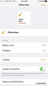 3-Battery Status of Friday Lock-002