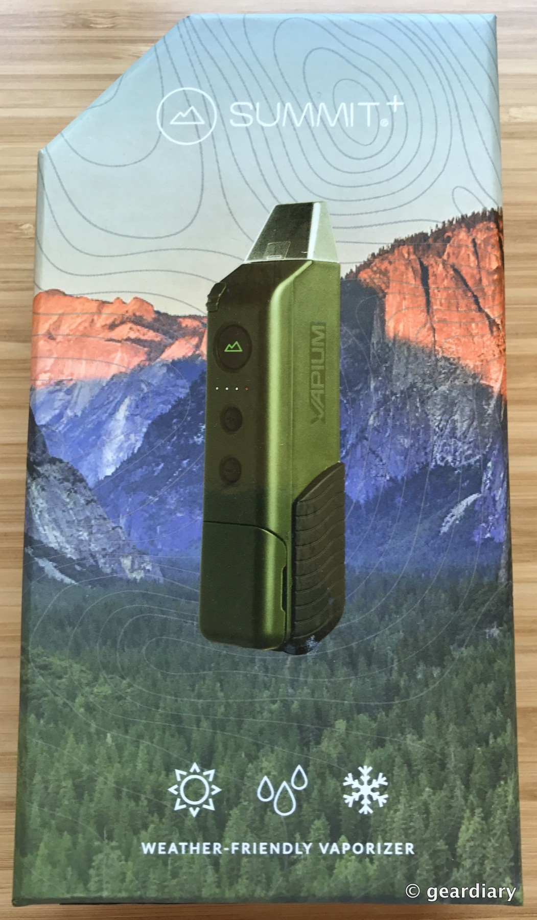 GearDiary Vapium Summit+: A Weather and Budget-Friendly Vaporizer
