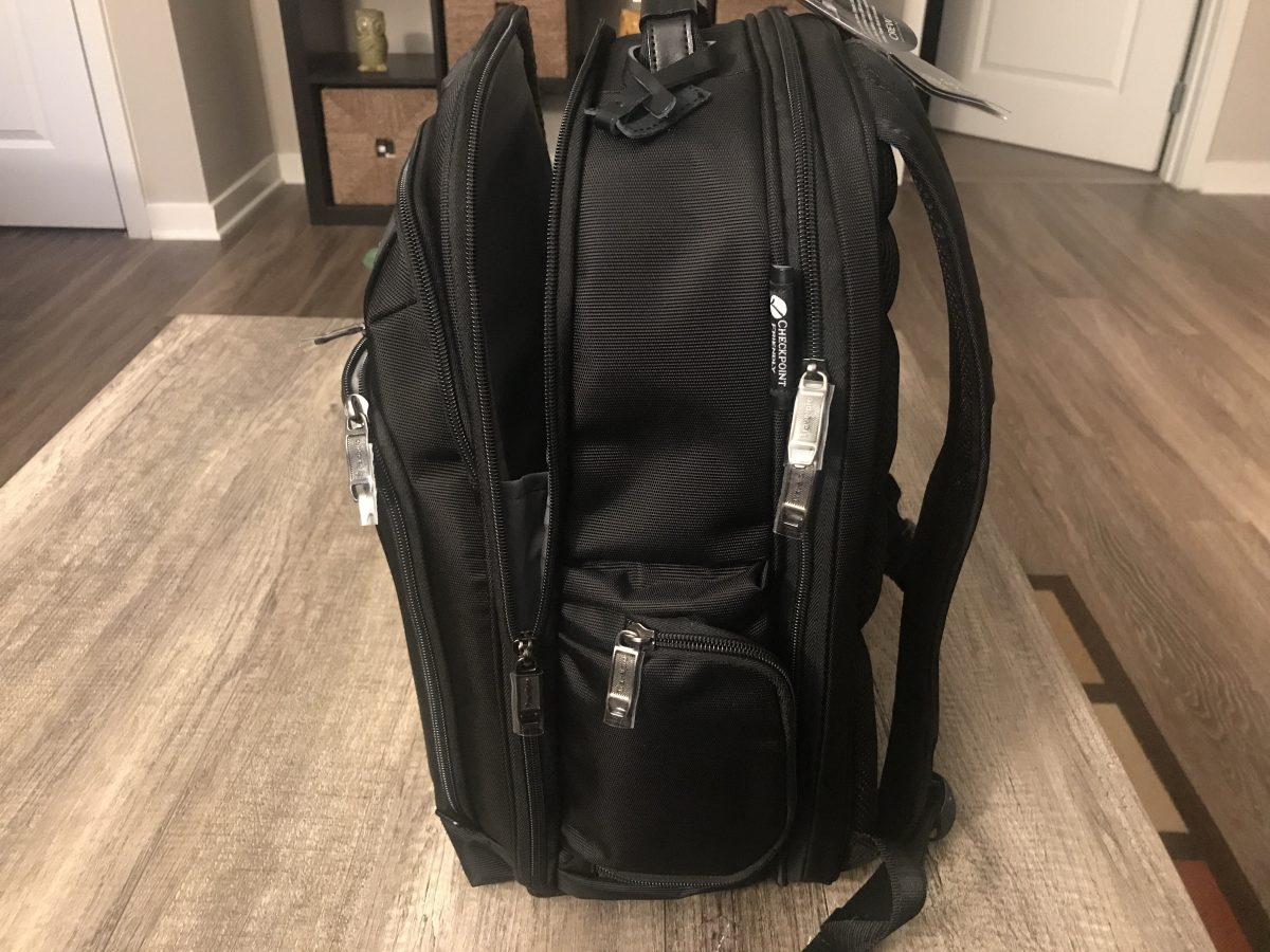 GearDiary The Travelpro Executive Choice 2 Checkpoint Friendly Backpack Review