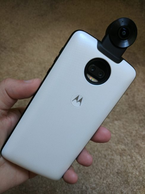 360-Degree Camera Moto Mod