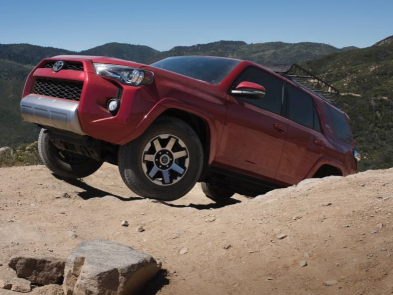 2017 Toyota 4Runner TRD Off-Road Premium Takes You Places...And Beyond