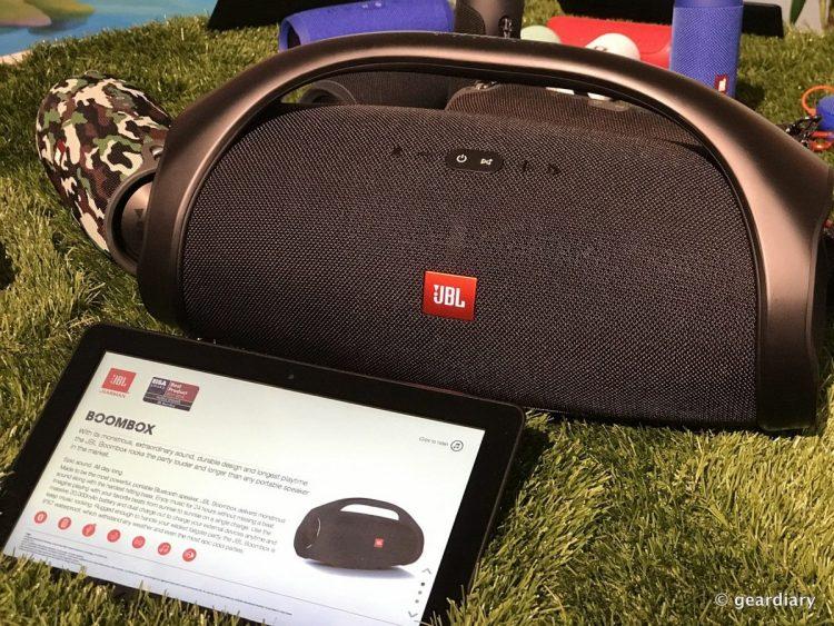 JBL Boombox Makes Portable Sound Epic