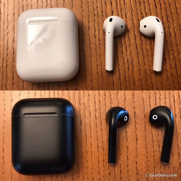 Need to Paint It Black? Try BlackPods to Re-Finish your Apple AirPods