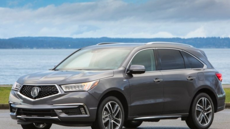 2017 Acura MDX Sport Hybrid Is The Way To Go...Everywhere