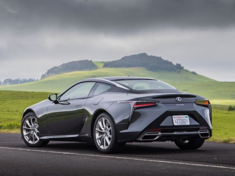 2018 Lexus LC 500h Hybrid Luxury Sport Coupe: A Blast From the Future