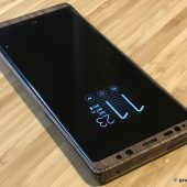 Cover Your Samsung Galaxy Note8 with a Toast Wood Veneer Skin