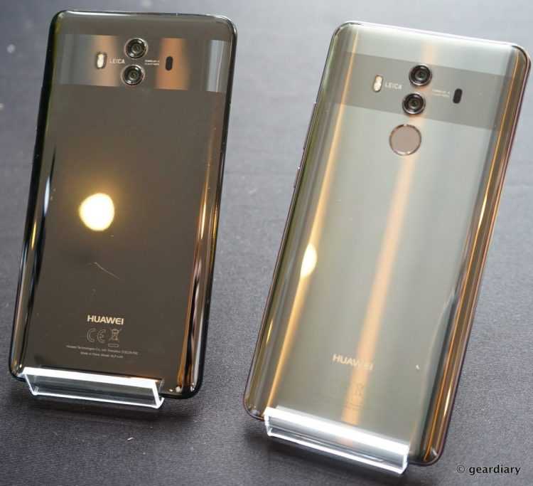 GearDiary Huawei Mate 10 and Mate 10 Pro: Artificial Intelligence Makes them Magnificent