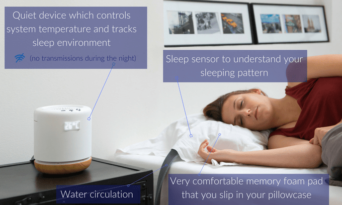GearDiary Moona Improves Your Sleep by Adjusting Your Pillow's Temperature