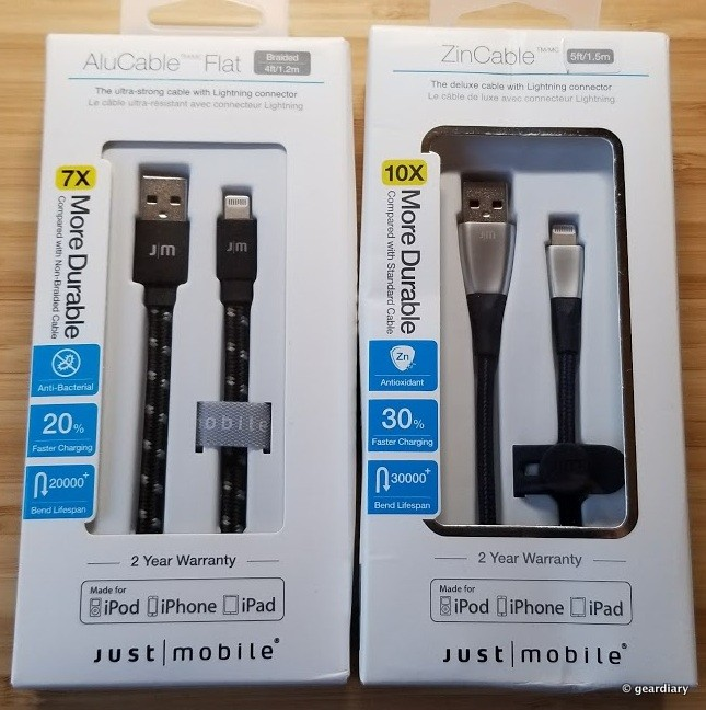 Just Mobile Has Upped Their Cable Game with the ZinCable and AluCable Flat Braided