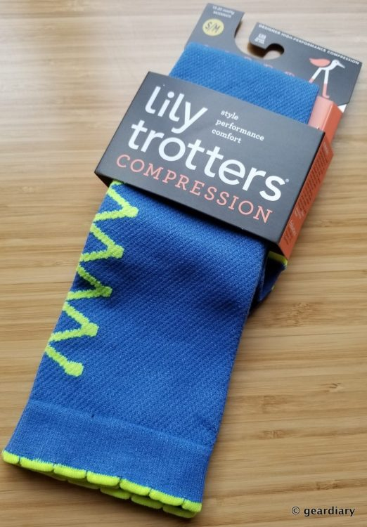 GearDiary Lily Trotters Compression Socks: Run, Fly, & Be Fashionably Energized