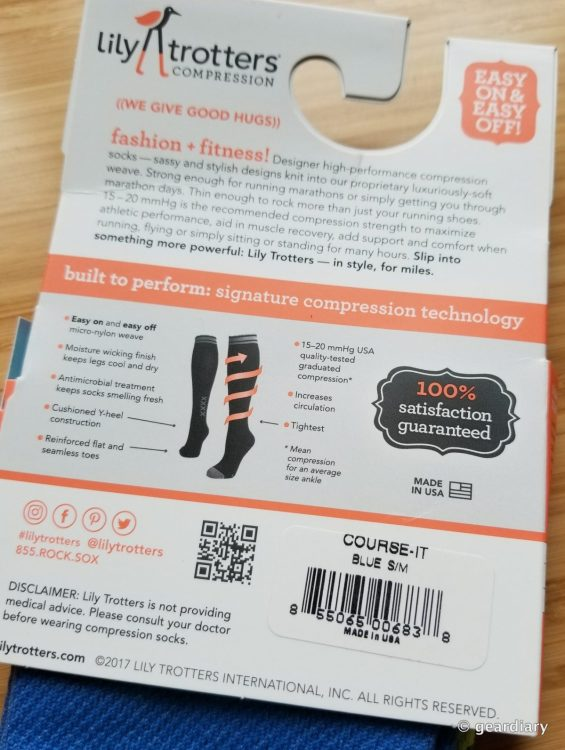 Lily Trotters Compression Socks: Run, Fly, & Be Fashionably Energized