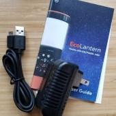 ECOXGEAR EcoLantern: 360º Waterproof Rugged Speaker & Lantern