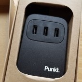 Punkt. UC 01 USB Desktop Charger: Plenty of Power to Spare!