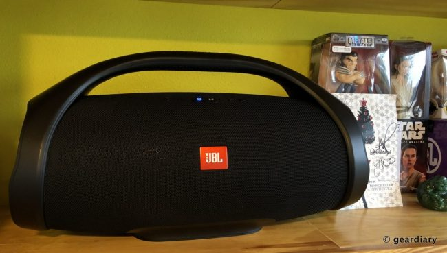 JBL Boombox Say Hello To The Star Of Your Next Backyard Party