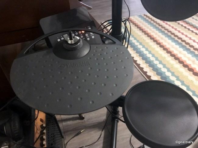 GearDiary The Yamaha DTX400K Electronic Drum Set Really Rocks!