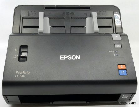 GearDiary Epson FastFoto FF-640: The Ultimate Archiver for Photos and a Paperless Office