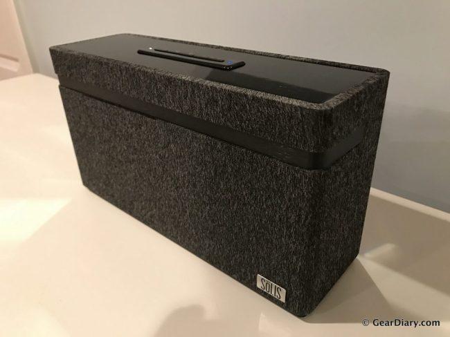 GearDiary SOLIS Debuts Impressive, Gorgeous Speakers