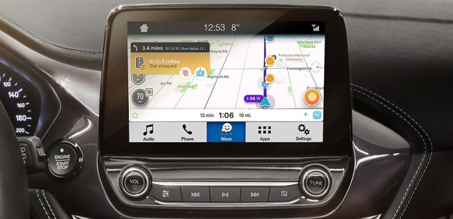 GearDiary Waze Integration in the 2018 Ford EcoSport Is What Every Uber Driver Needs