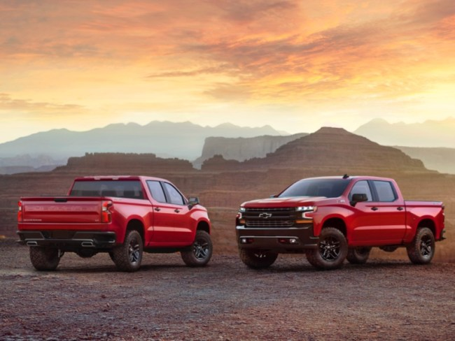 GearDiary New Chevrolet and Ford Trucks Already Debuting in Detroit - UPDATED: Bullitts Fly in Detroit!
