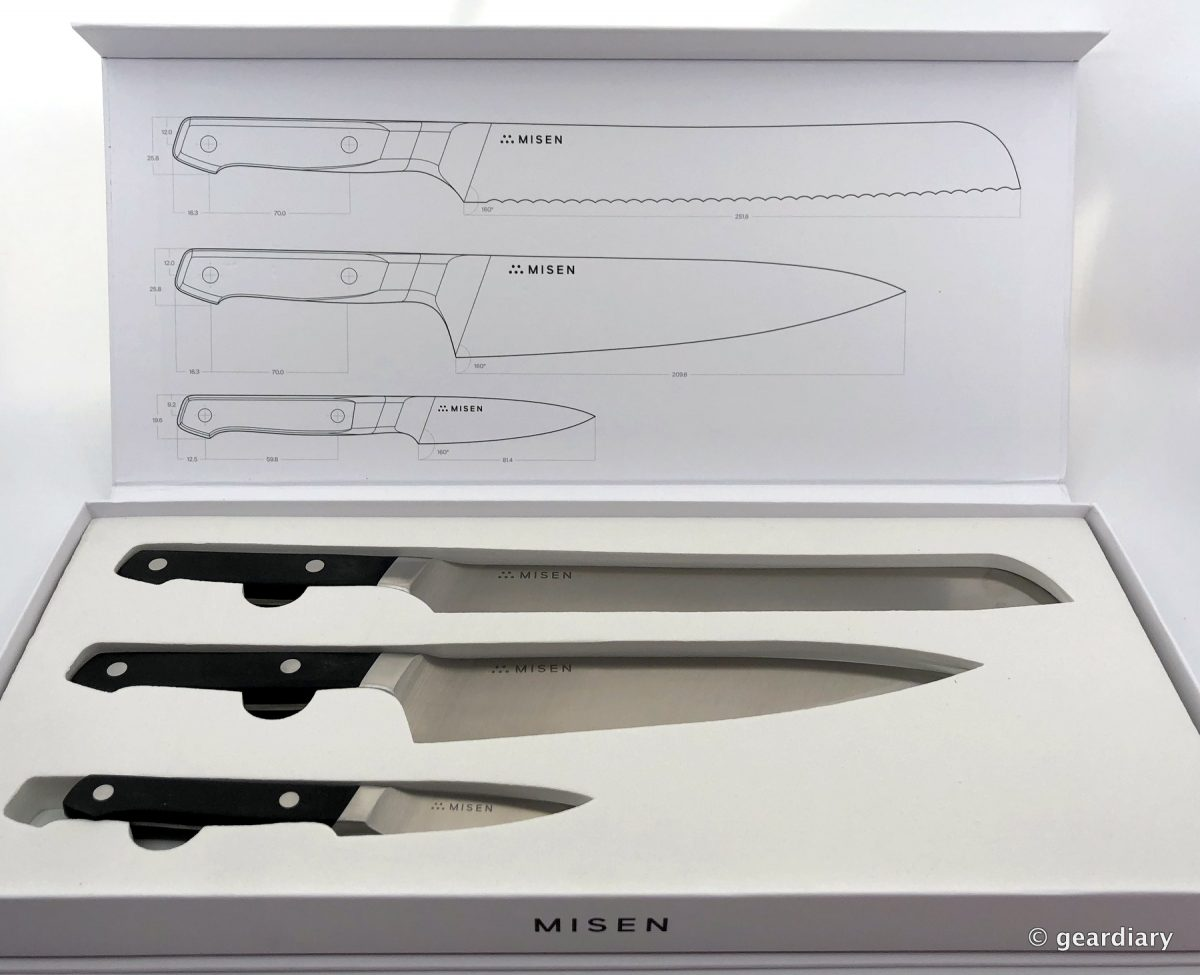 GearDiary Misen 03 Essential Knife Set: Complete Your Kitchen with These Knives