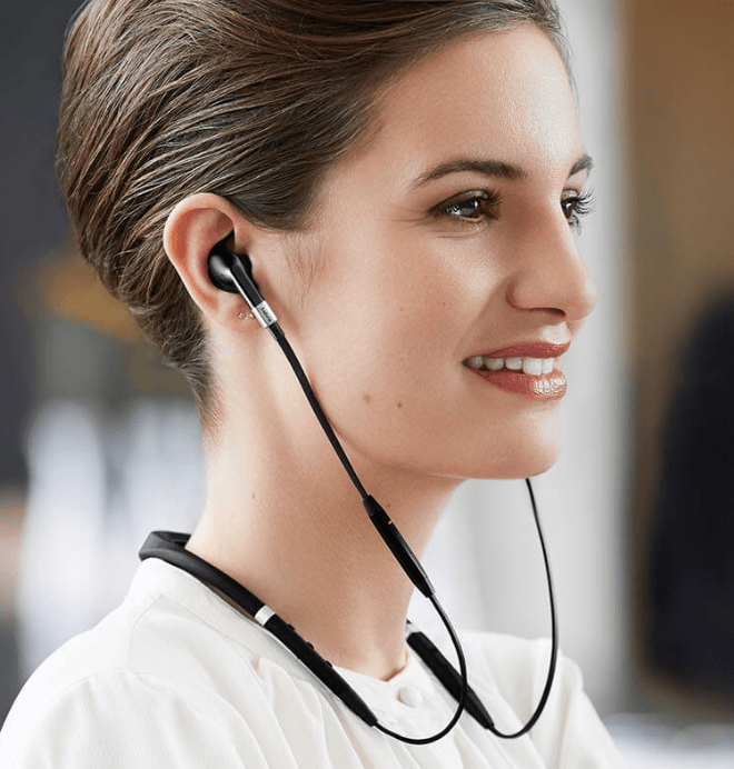 The Jabra Evolve 75e Is A Business Centric Neckband Style Wireless Headset