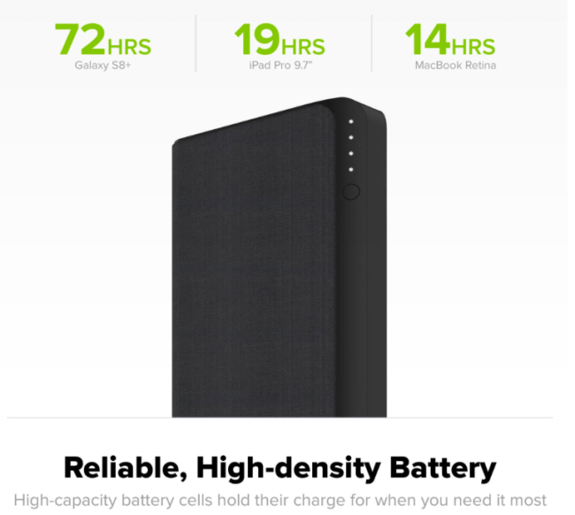 Go the Distance with the Mophie Powerstation USB-C XXL External Battery