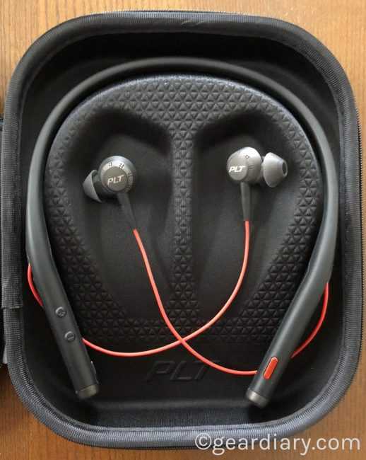 The Plantronics Voyager 6200 UC Neckband Headset Means Business