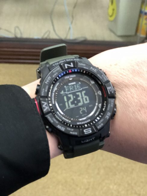 The ABCs (Altimeter, Barometer, Compass) of Casio Produce a Truly Useful and Stylish Pro Trek Watch!