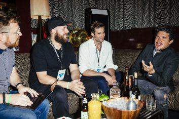 Rob (right), JJ and Tony / Photo courtesy of Pax