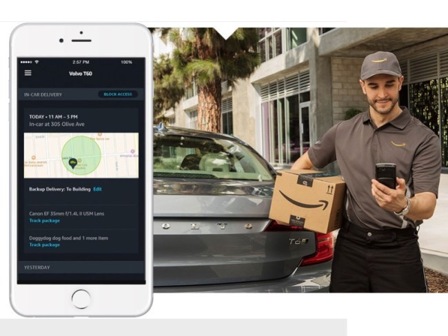 Amazon Key In-Car Wants to Put Junk in Your Trunk