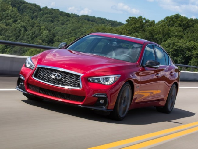 2018 Infiniti Q50S Red Sport 400 Is the 'Essence' of Driving