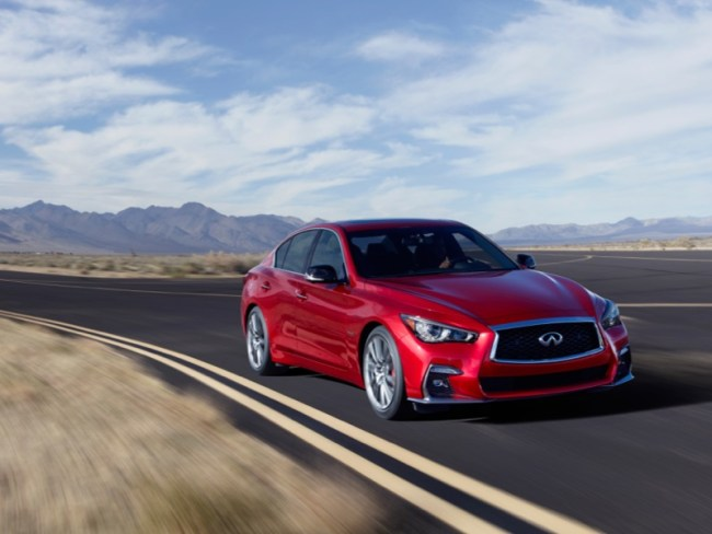 GearDiary 2018 Infiniti Q50S Red Sport 400 Is the 'Essence' of Driving