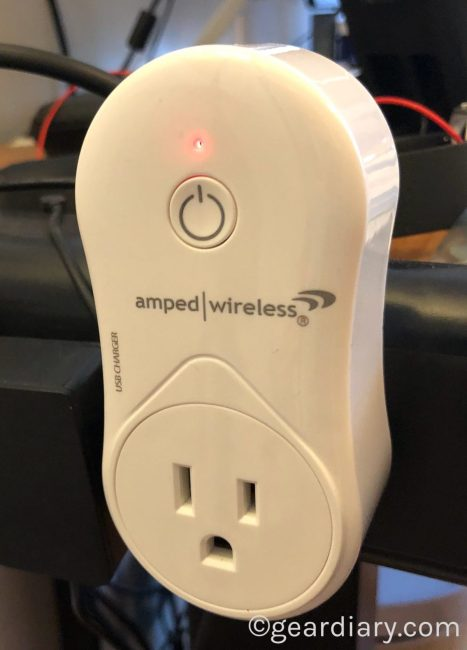 Amped Wireless SmartplugBrings Alexa Voice Control to Places You Never Imagined