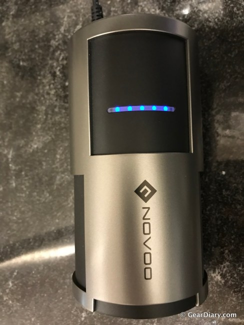 Novoo AC Power Bank Will Keep Your Devices Going All Day Long