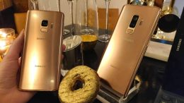 GearDiary Let the Sun Rise with the Samsung Galaxy S9 Gold Edition