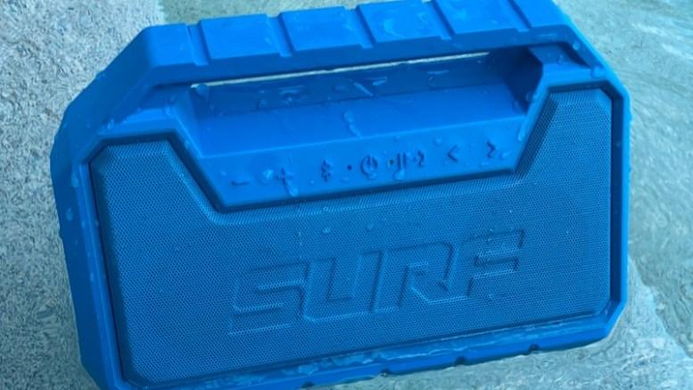 GearDiary Ion Audio Surf Waterproof Bluetooth Speaker Is Ready for Summer!