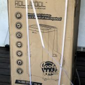 RolliBot RolliCool COOL 100H Portable AC with Heater Review