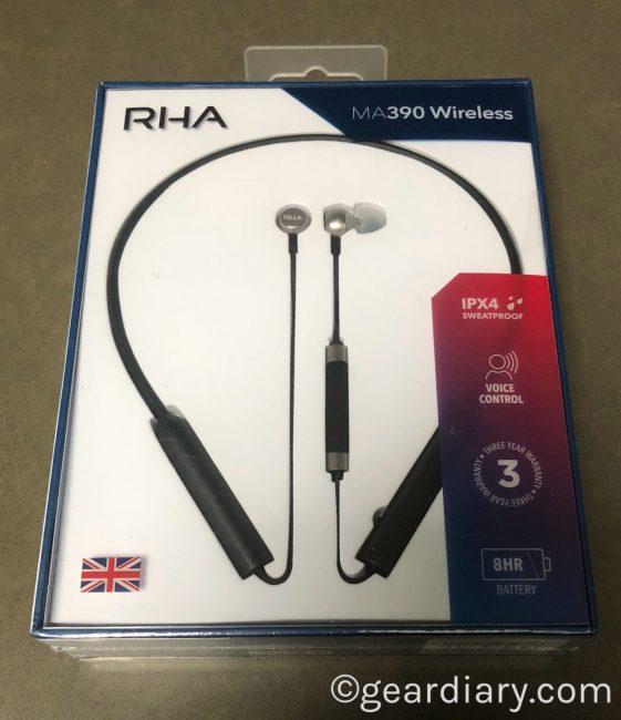 RHA MA390 Wireless Are Affordably Impressive Bluetooth In-Ear Headphone