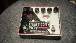 Why the Electro-Harmonix Deluxe Memory Boy Is Still the Best Analog Delay on the Market