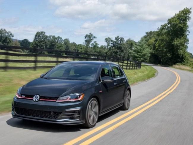 GearDiary 2018 Volkswagen Golf GTI Still the Gold Standard for 'Hot Hatch'
