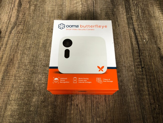 The Ooma Butterfleye Smart Home Security Camera Review (with Giveaway!)